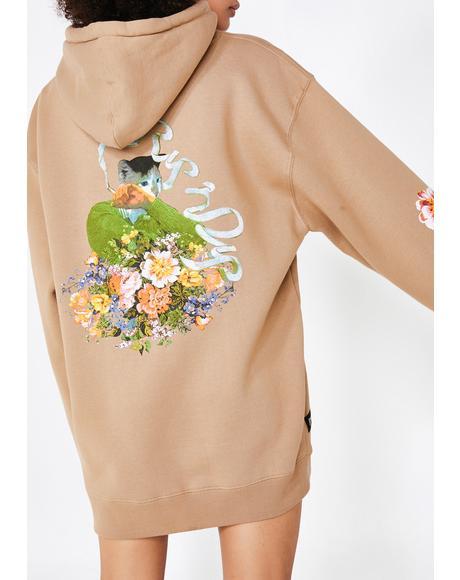Flower Burst Hoodie