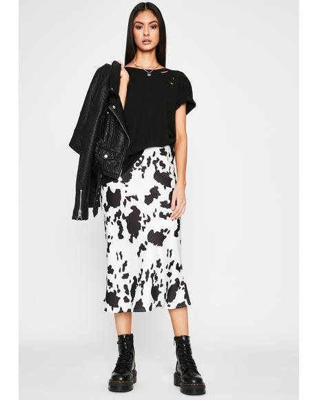 Milk Made Midi Skirt