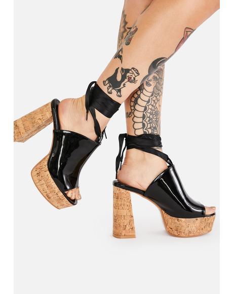Shoe Queen Platform Clogs