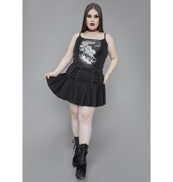 Widow Our Day Of Wrath Corset Top