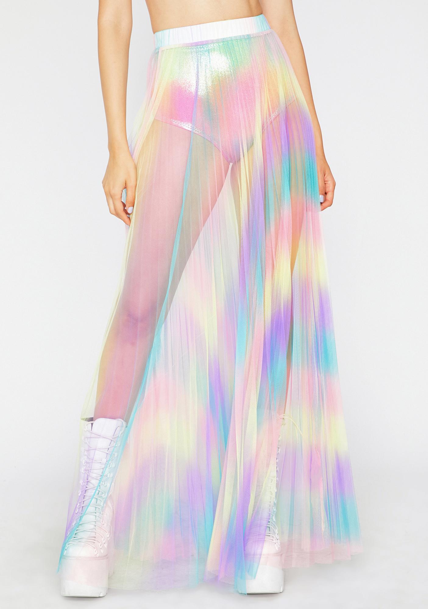 Sunset Seduction Maxi Skirt