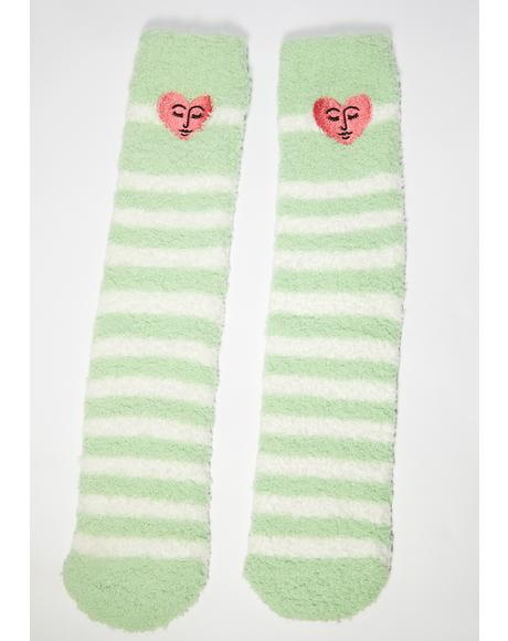Self Care Fuzzy Socks