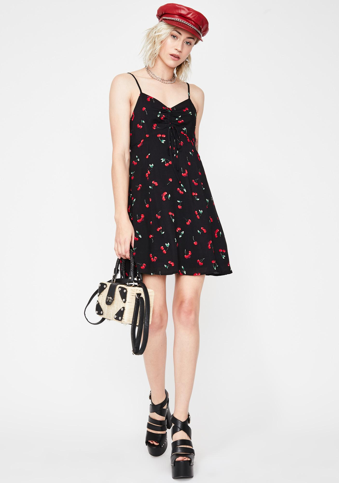 Cherry On Top Mini Dress