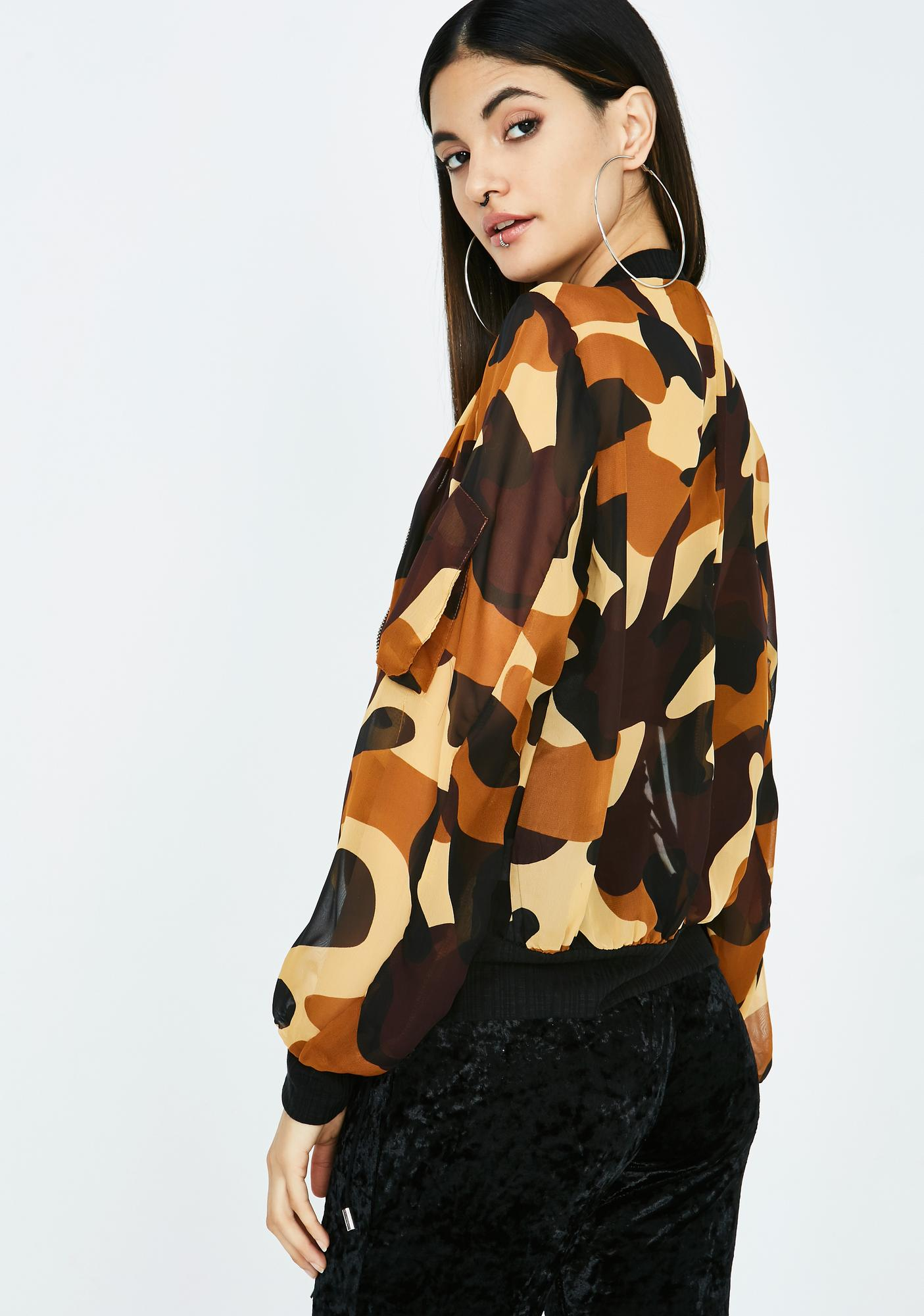 Battle Zone Camo Bomber
