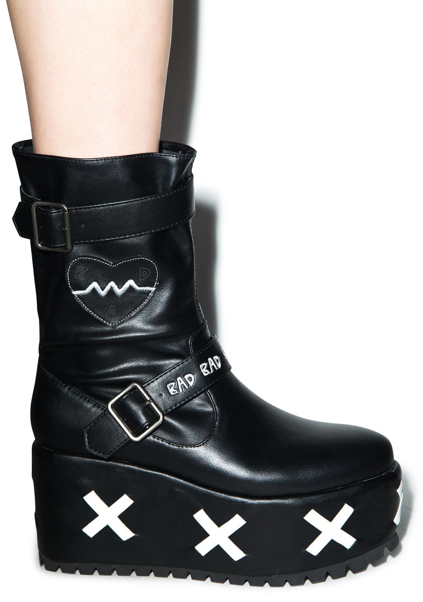 Y.R.U. x Chocomoo Yuka Platform Boots