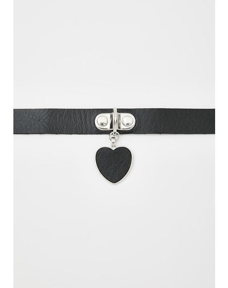 Darker Than Your Heart Choker