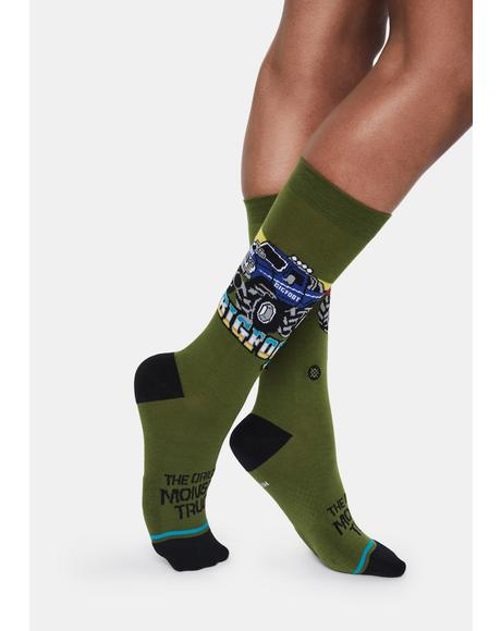 Big Foot 4x4x4 Crew Socks