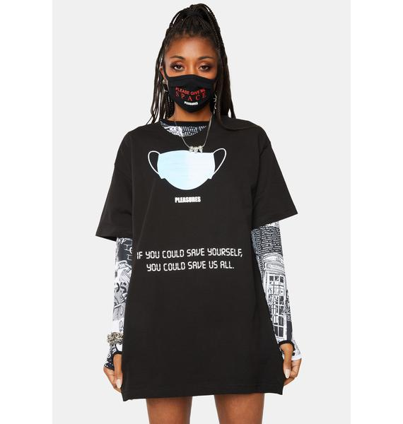 Pleasures Save Yourself Graphic Tee