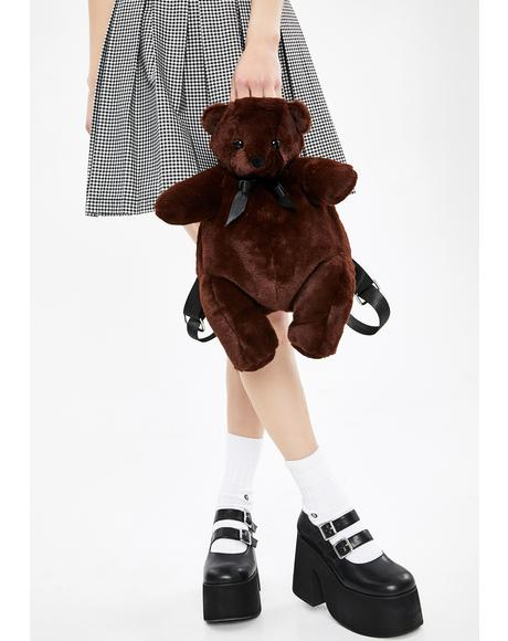 Hug Lover Teddy Backpack