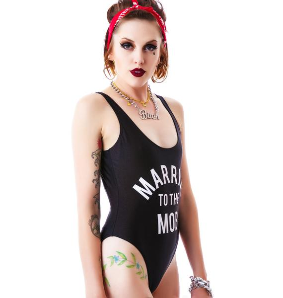 Married to the Mob MTTM Logo Swimsuit