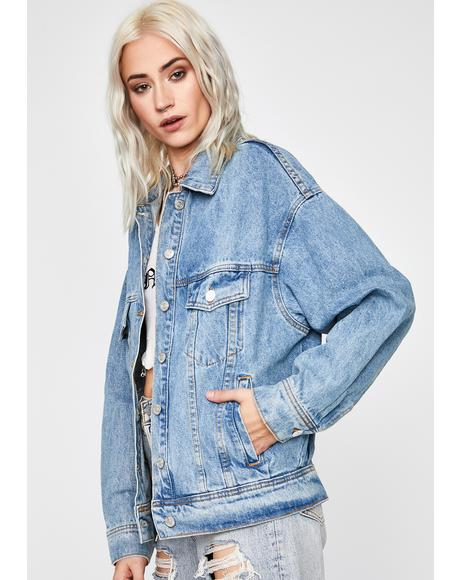 Unfiltered Antics Denim Jacket