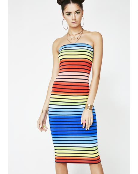 Candyland Stripe Dress