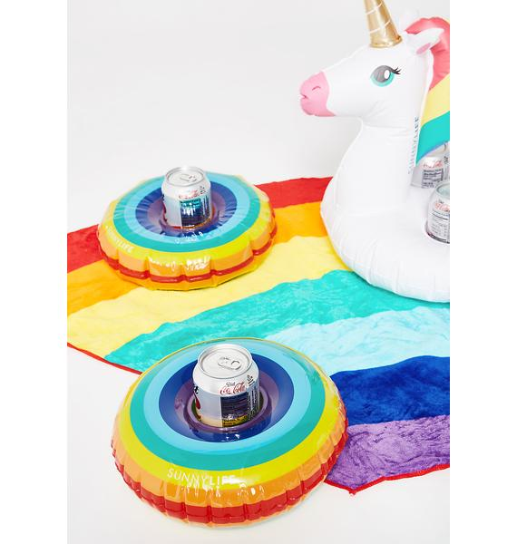 Dosed On Rainbowz Drink Holder Set