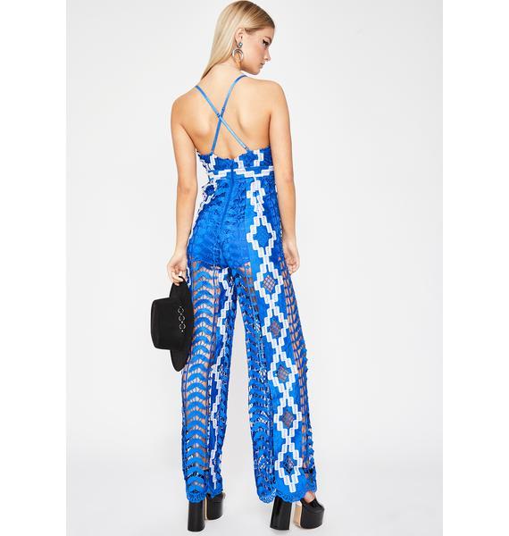 Sea Goddess Crochet Jumpsuit