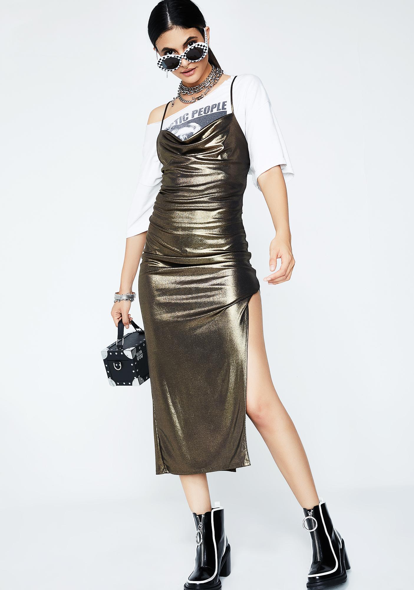 Take A Chance Midi Dress