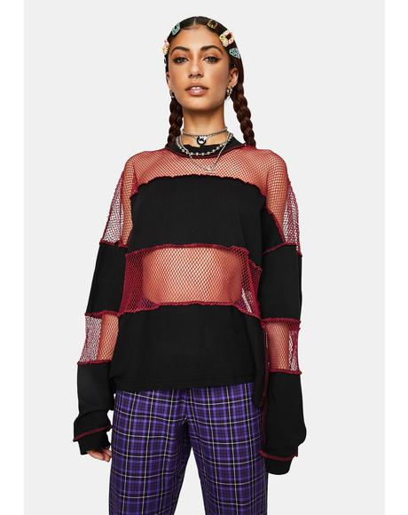 Generate Fishnet Paneled Top