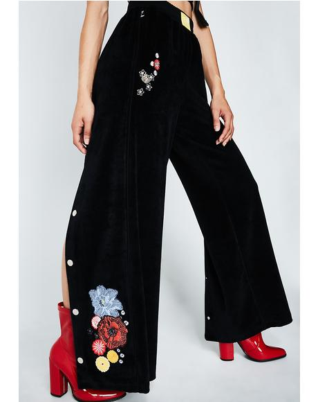 Flower Popper Trousers