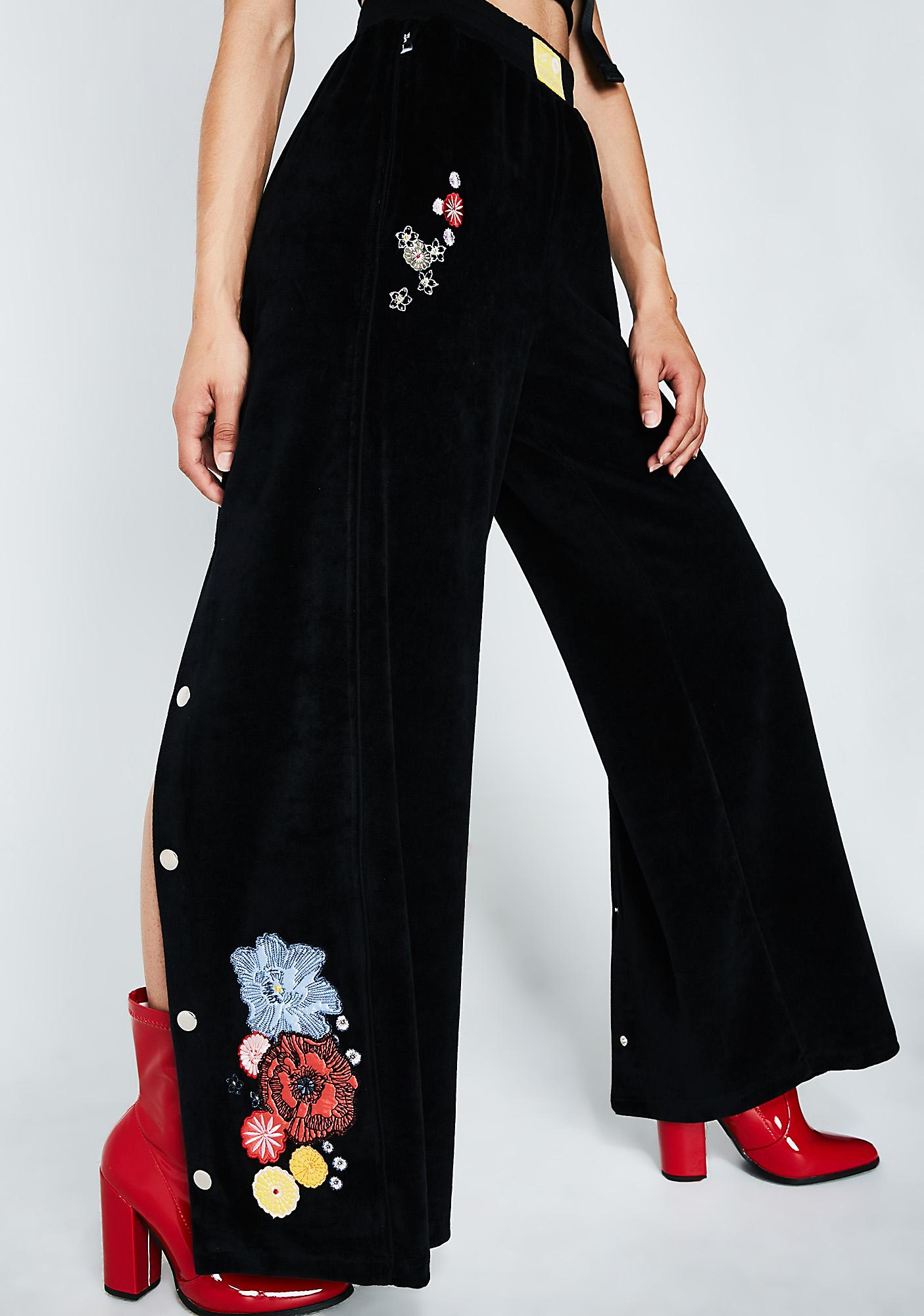 Illustrated People Flower Popper Trousers