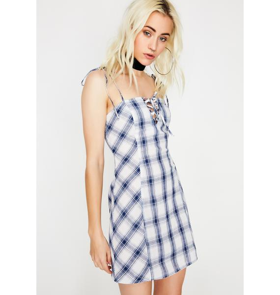 Schoolyard Stunna Plaid Dress