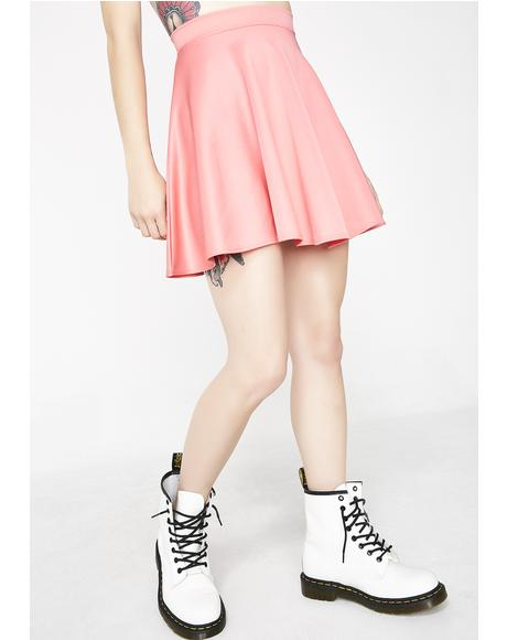Sweet Spun Sugar Skater Skirt