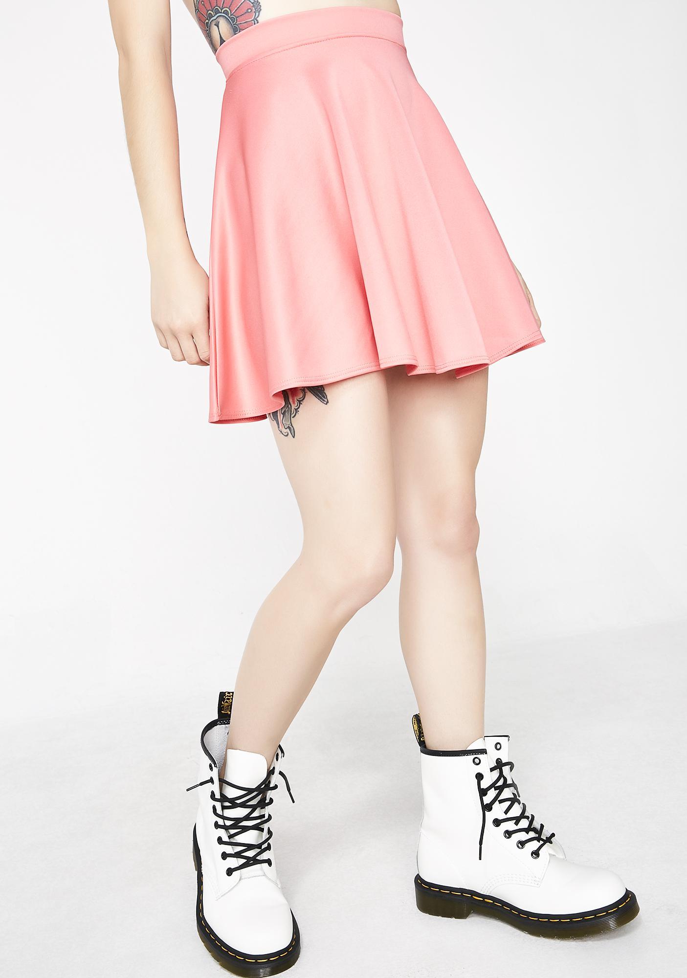Sweet Spun Sugar Skater Skirt