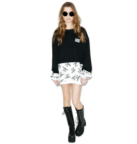 BOY London Block Eagle Sweater
