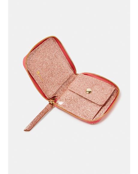 Kawaii Confections Zip Around Wallet