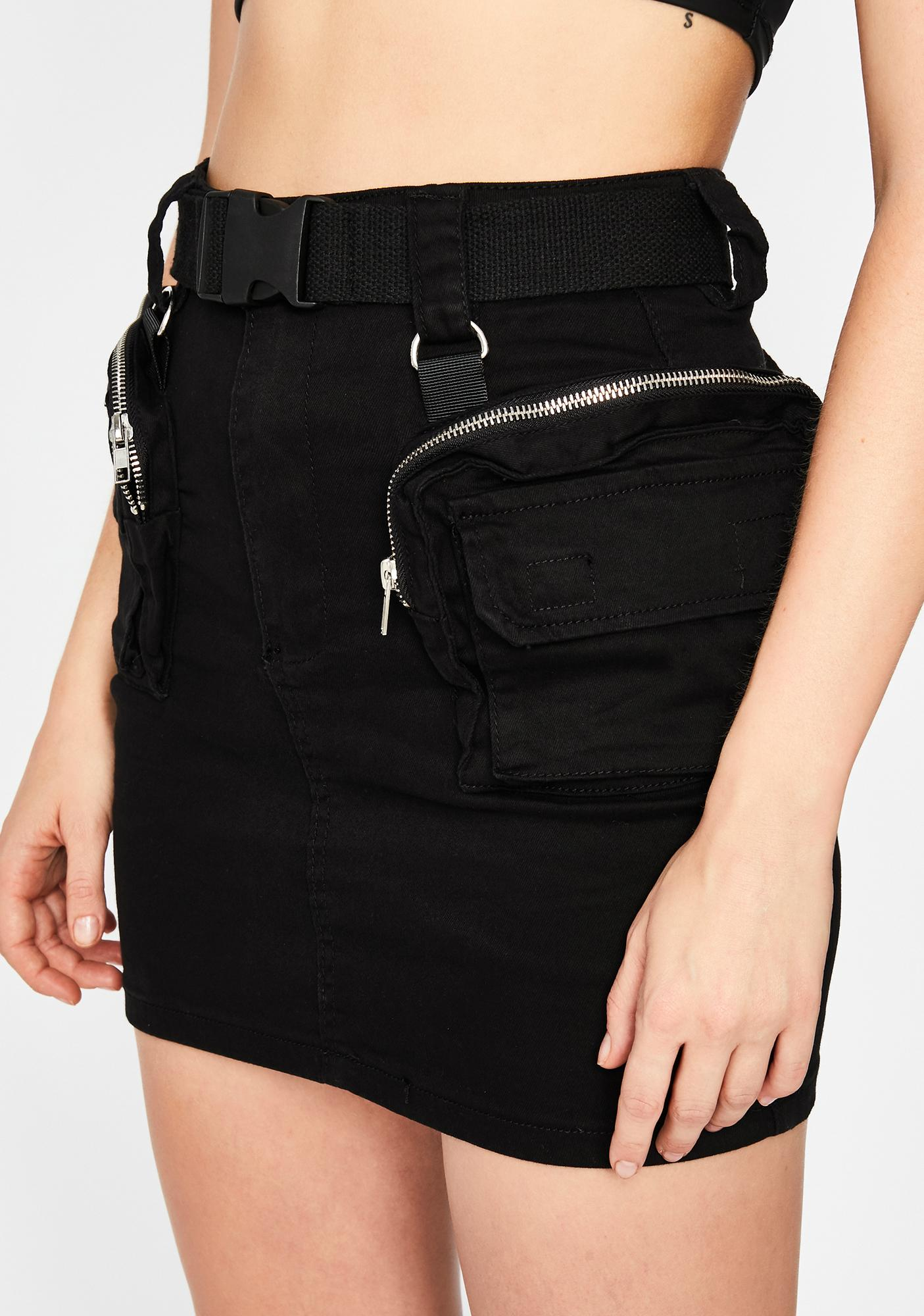 New Bae Alert Mini Skirt