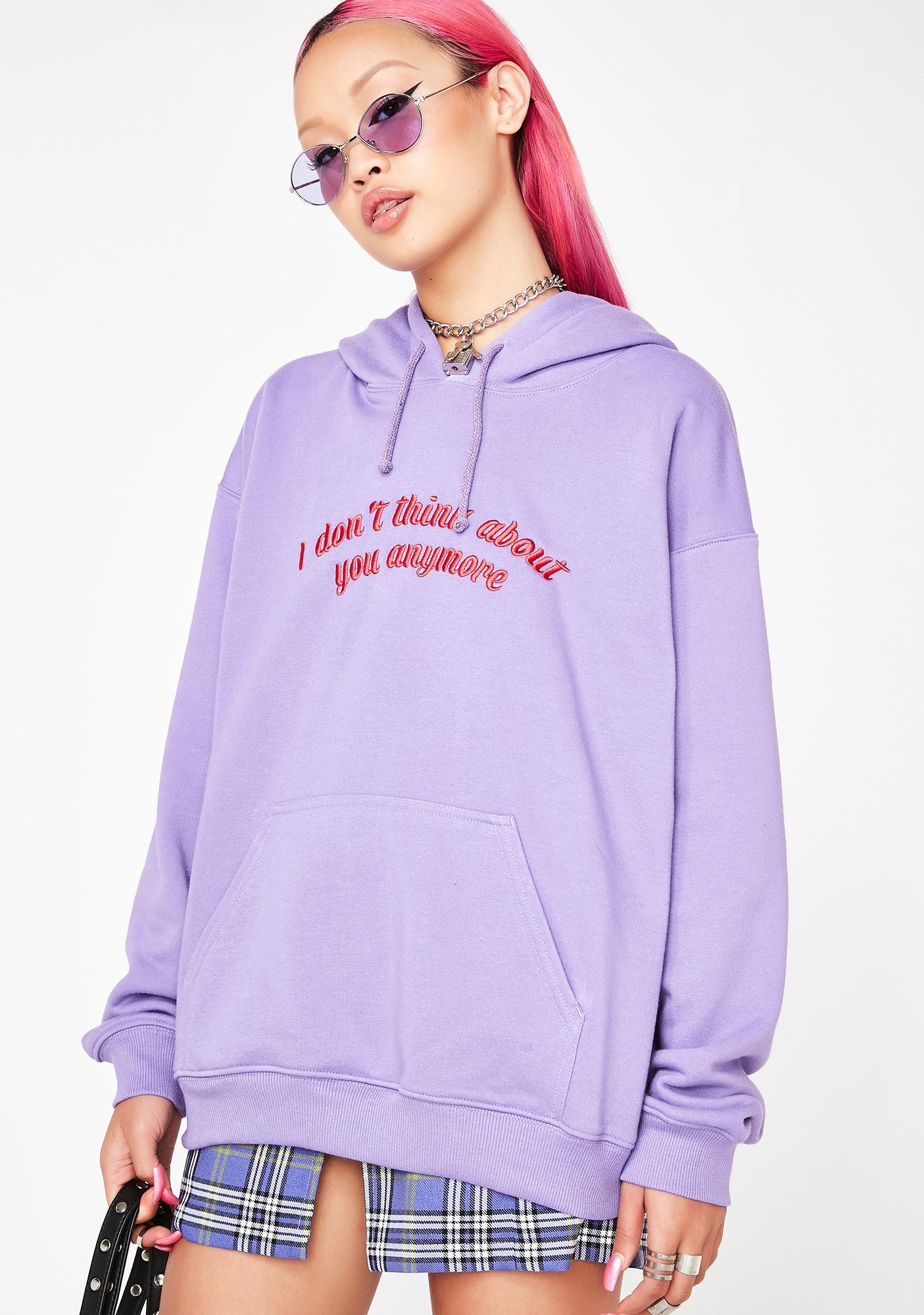 Local Heroes Purple Love Sweatshirt