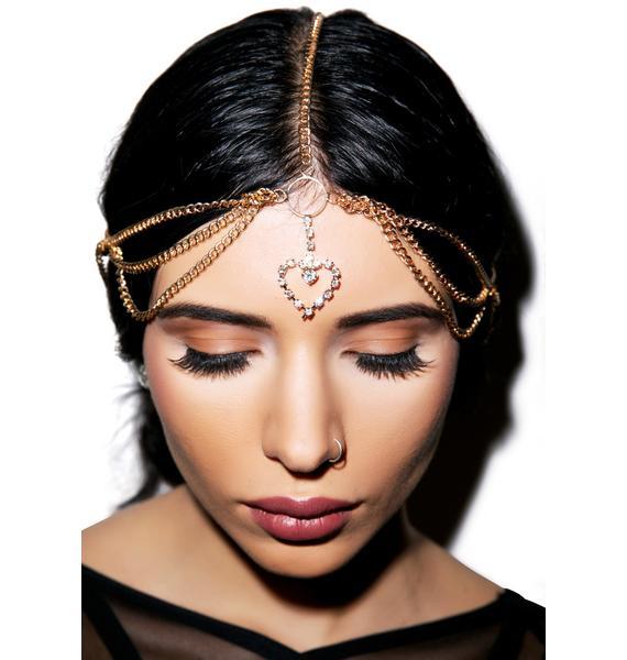 Queen of Hearts Head Chain