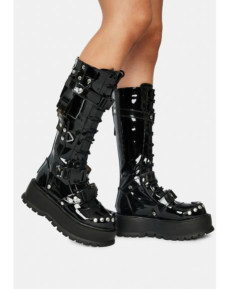 Hell And Back Pocket Combat Boots
