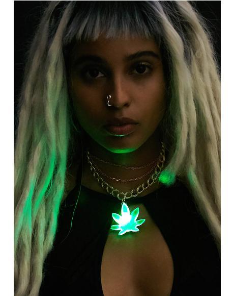 Light Up Bud Necklace