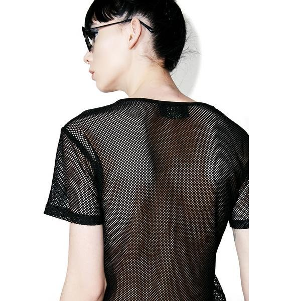 Naughty Thoughts Mesh Shirt