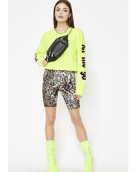 Fierce Action Biker Shorts