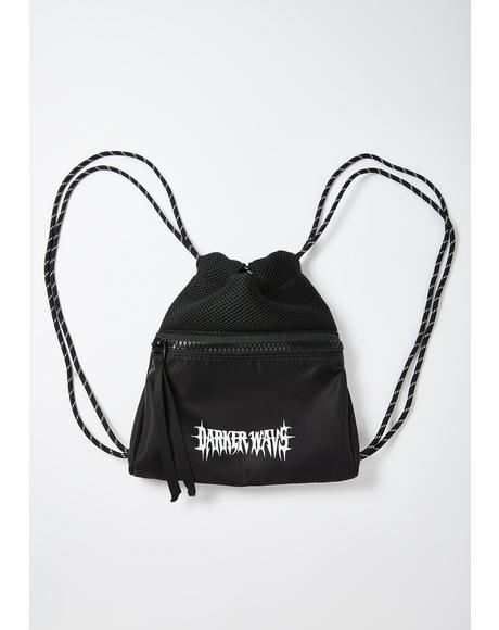 Snare Nylon Sport Mini Drawstring Backpack