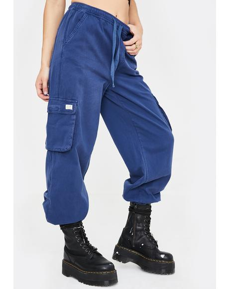 Raff Baggy Cuffed Cargo Pants