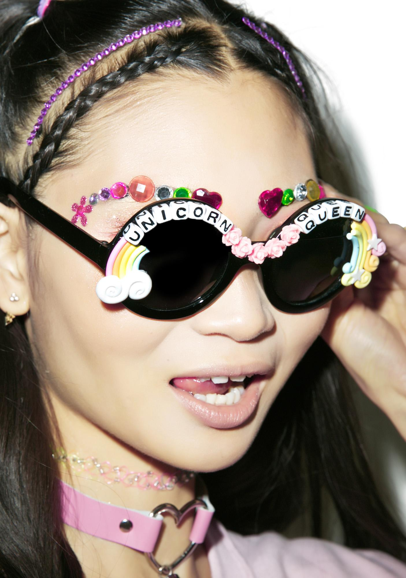 Rad and Refined Rainbow Ruler Sunglasses