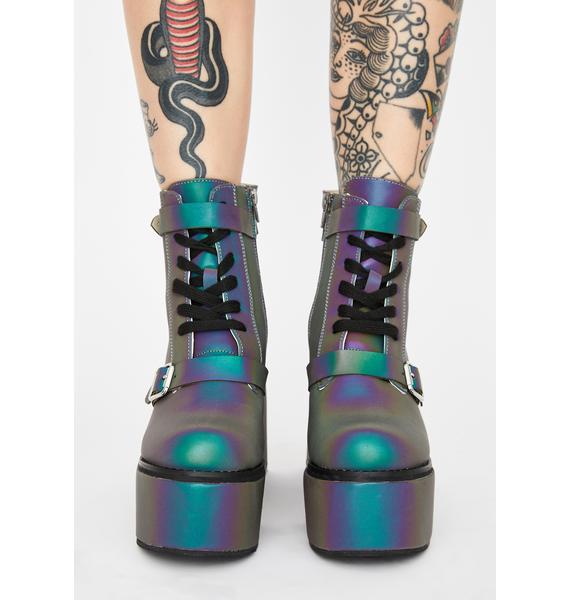 Shut Ish Down Reflective Boots