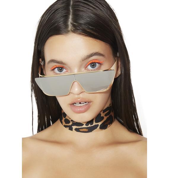 Rad and Refined Golden Age Terminator Sunglasses