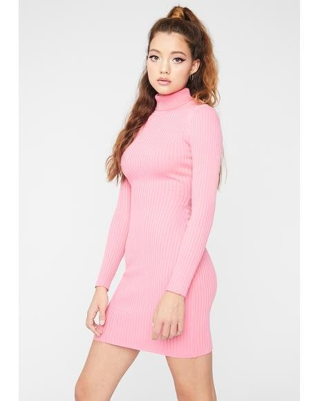 Rose U Could Never Sweater Dress