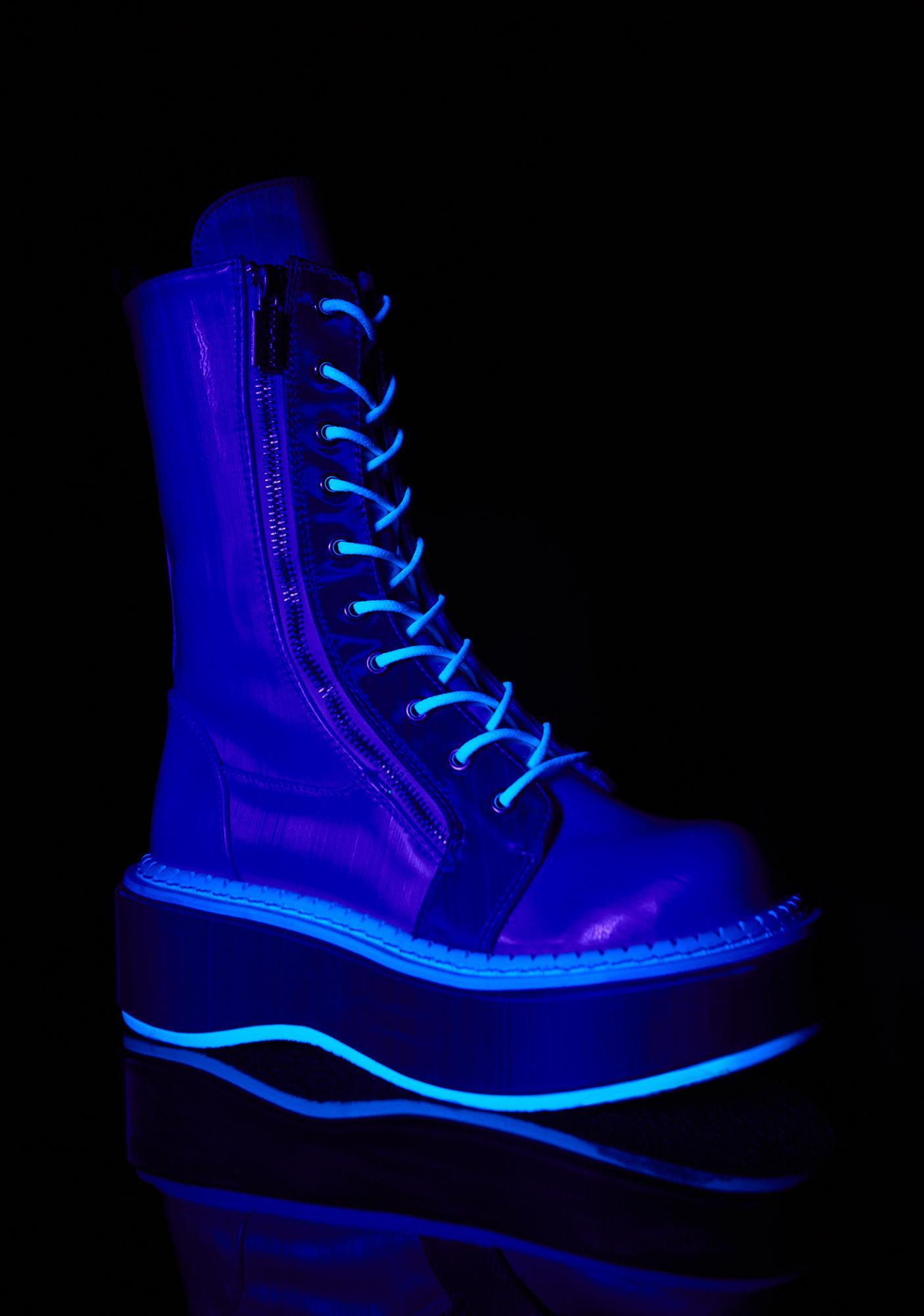 Demonia Electric Fusion Platform Boots