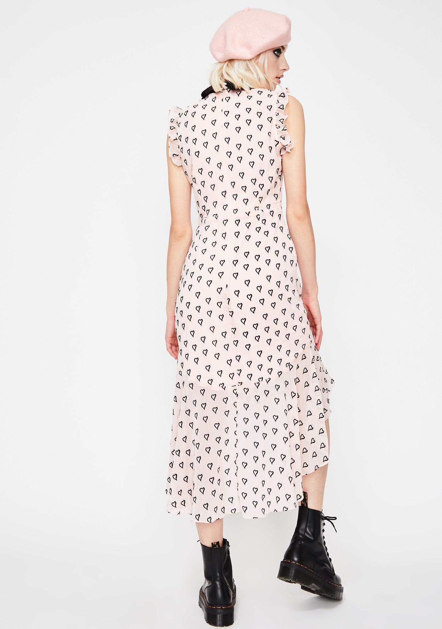 Lovely Desire Midi Dress