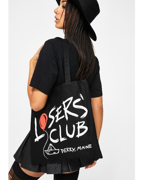 It Losers' Club Canvas Tote