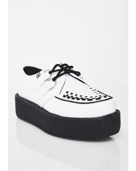 Leather Viva Mondo Creepers