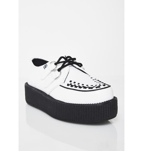 T.U.K. Leather Viva Mondo Creepers
