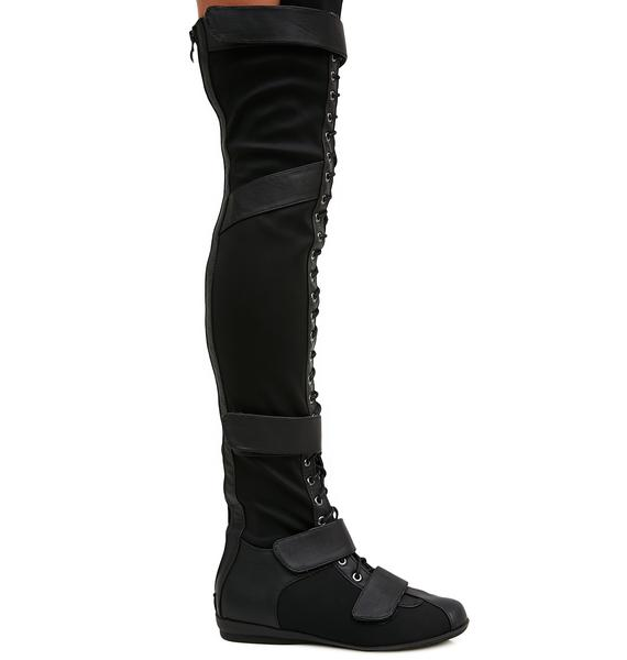 Cold Soul Over-The-Knee Boots