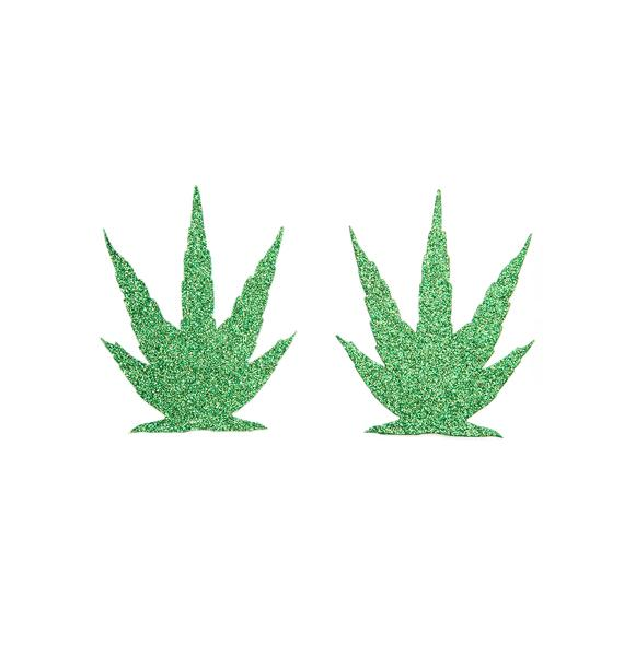 Pastease Glitter Weed Pasties