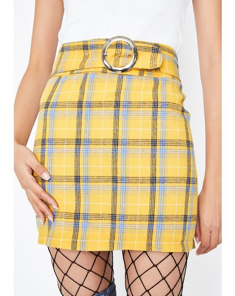 Sunny Boo'd Up Clique Mini Skirt