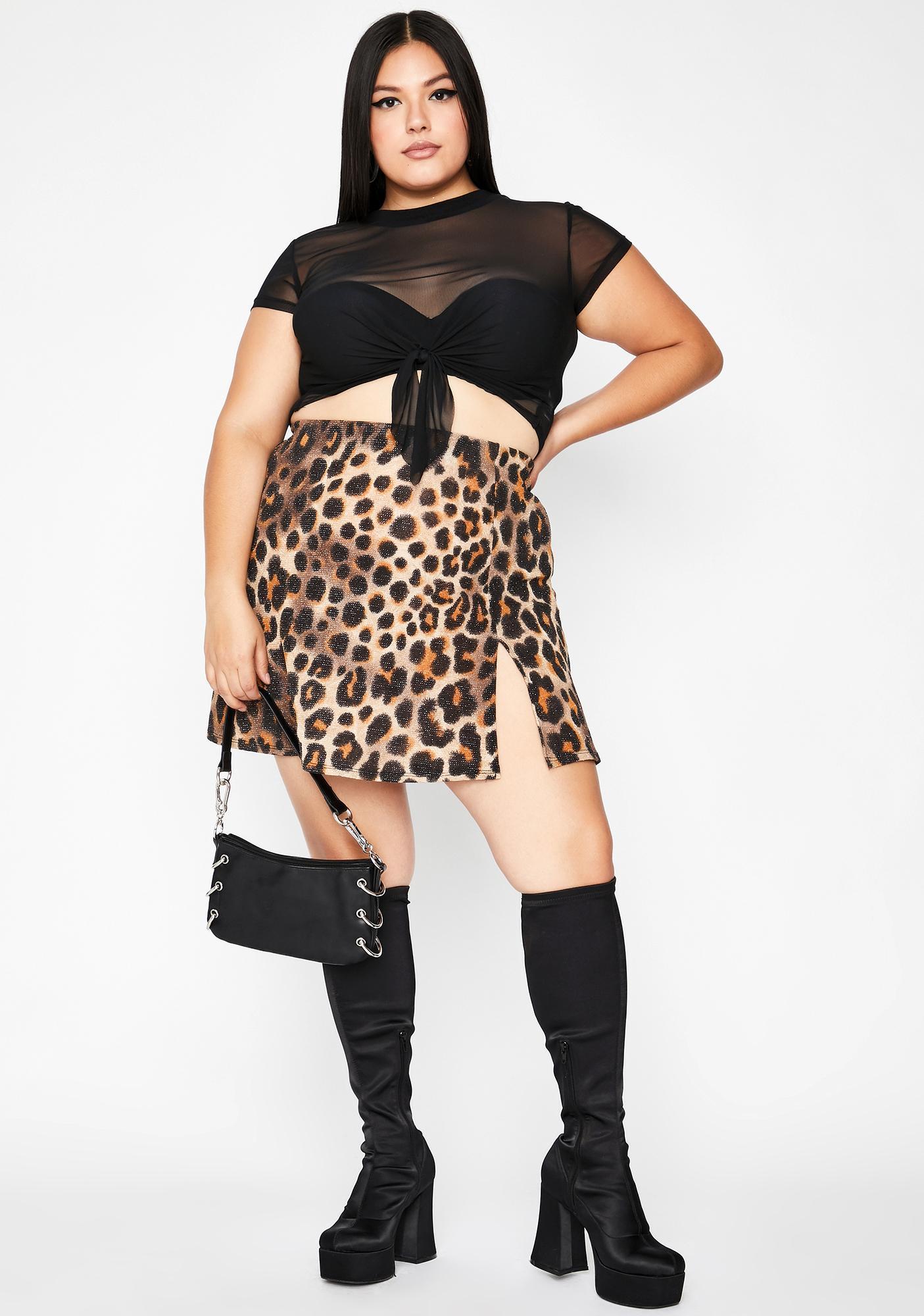 Wild For You Mini Skirt