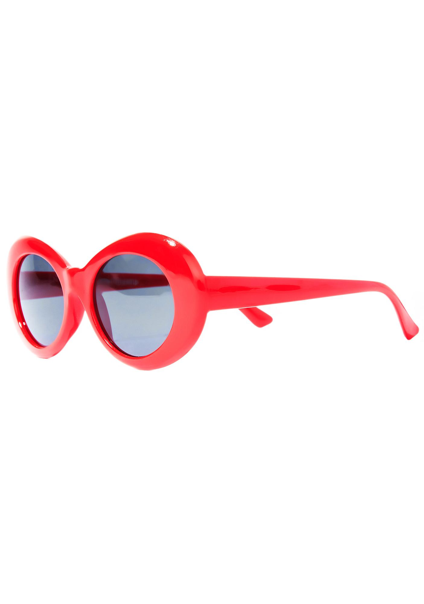 Petals and Peacocks Cherry Nevermind Sunglasses